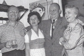 William King Harvey (second from right)