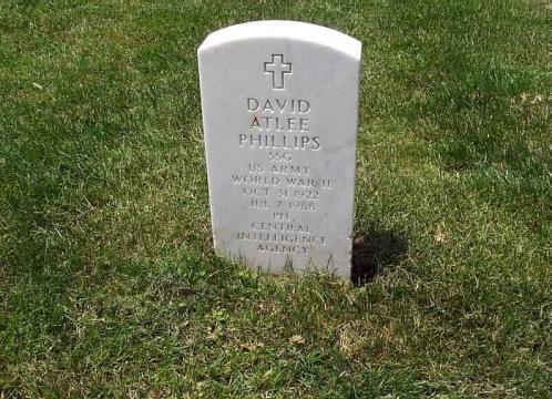 David Phillips' Grave