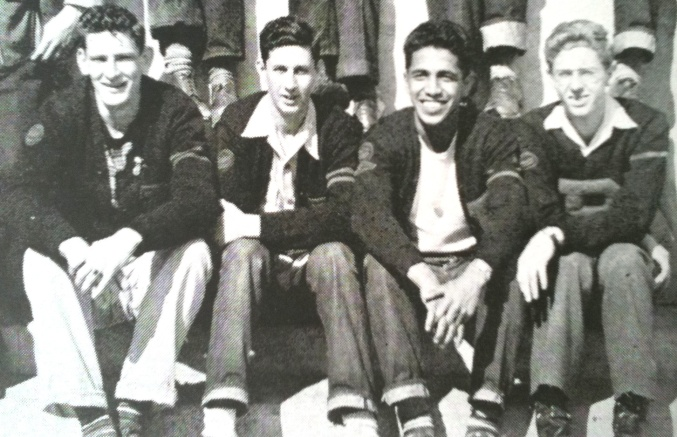 David Morales (second from right)