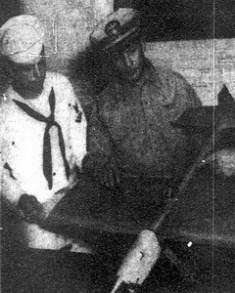 Frank Krystinik (left) and David Sooy (right), circa 1953