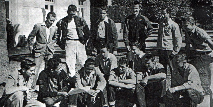 David Morales (front row, second from left)
