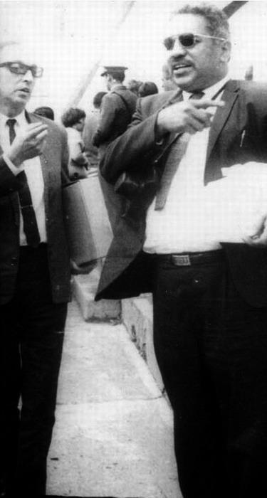 David Morales (right)