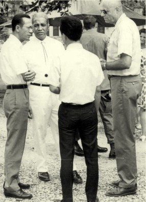 David Morales (second from left), 1969