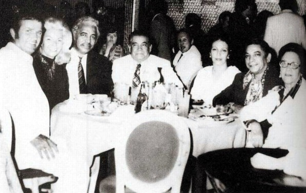 David Morales (third from left, at El Molino)