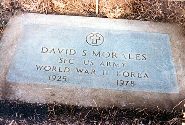 David Morales' Grave
