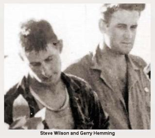Steve Wilson (left) and Gerry Hemming (right)