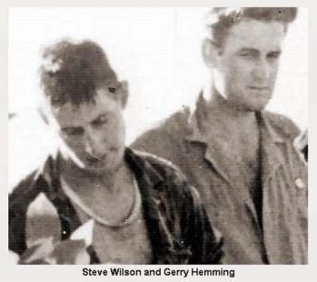 Steve Wilson (left) and Gerry Hemming (right)