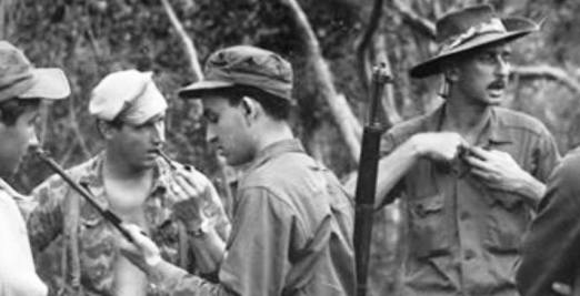 Steve Wilson (second from left) and Joe Garman (right)
