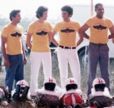 "L-R: Francisco ""Papito"" Hernandez, Rene Corvo, Rolando Otero, Tony Izquierdo"