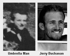 """Umbrella Man"" in Dealey Plaza and Jerry Buchanan"