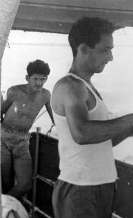 Felipe Vidal Santiago (right) and his cousin