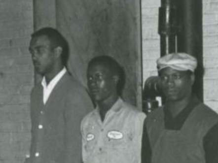L-R: Bonnie Ray Williams, Harold Dean Norman and James Earl Jarman Jr