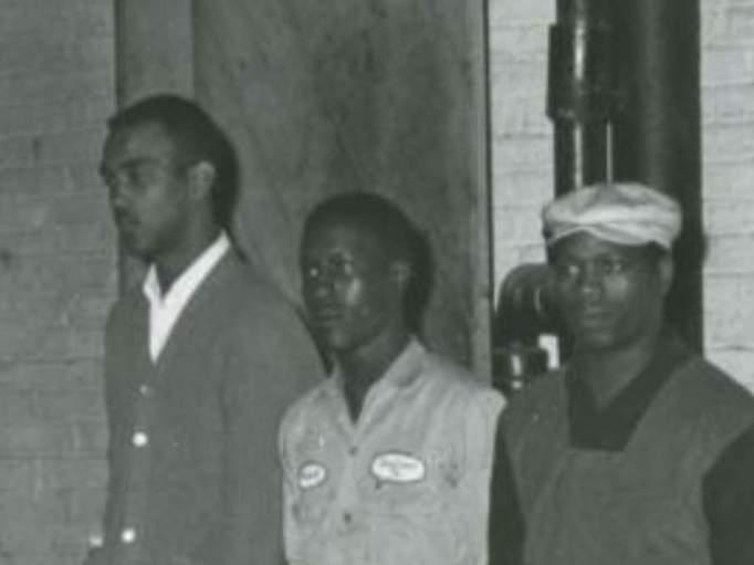 L-R: Bonnie Ray Williams, Harold Dean Norman and James Earl Jarman Jr