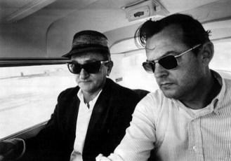 David Ferrie (left) and Larry de Joseph