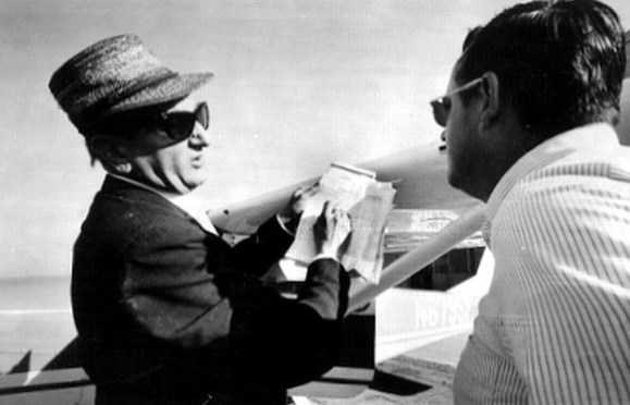 David Ferrie (left) and Larry DeJoseph