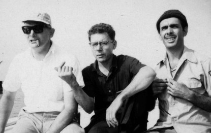 L-R: Dennis Harber, Isidro Borja, Bernardo de Torres