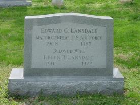 Ed Lansdale's Grave
