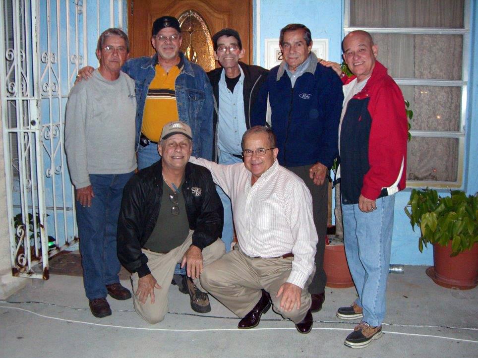 Standing L-R: Rene Corvo, Norberto Acosta, Salvador Gonzalez, Luis Crespo, Armando Antelo; Kneeling L-R: Gustavo Castillo, Manuel Alen, in 2006