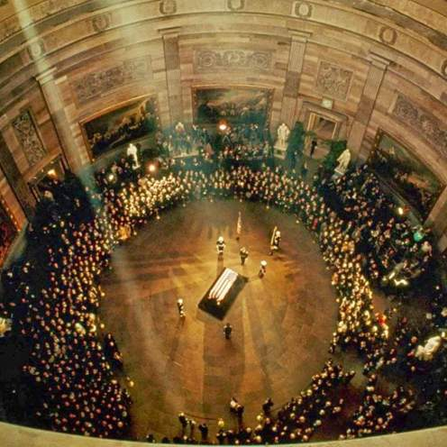 President Kennedy's Body Lying in State