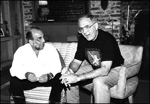 """Rafael """"Chi Chi"""" Quintero (left) and Lino Fernandez"""