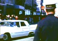 George Lumpkin Driving the Pilot Car
