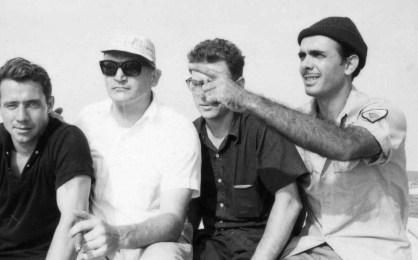 L-R: William Seymour, Dennis Harber, Isidro Borja, Bernardo de Torres
