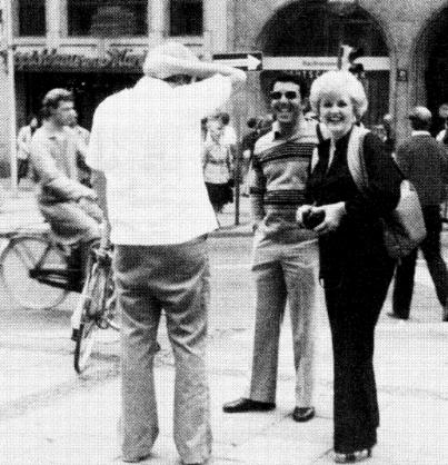 Tom Clines, Rafael Quintero and Shirley Brill