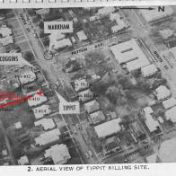 Aerial View of the Tippit murder scene; Credit David Josephs