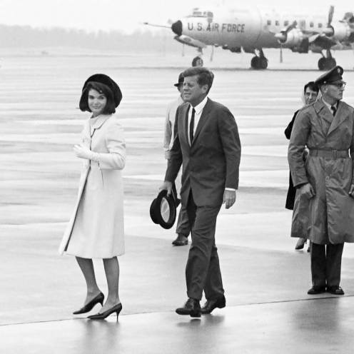 November 21, 1963, President Kennedy departs Andrews AFB for Texas.