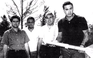 L-R: Armando Romero, Herminio Diaz Garcia, Ramon Font, Tony Cuesta