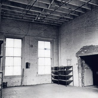 TSBD 7th floor, showing the work shop entrance