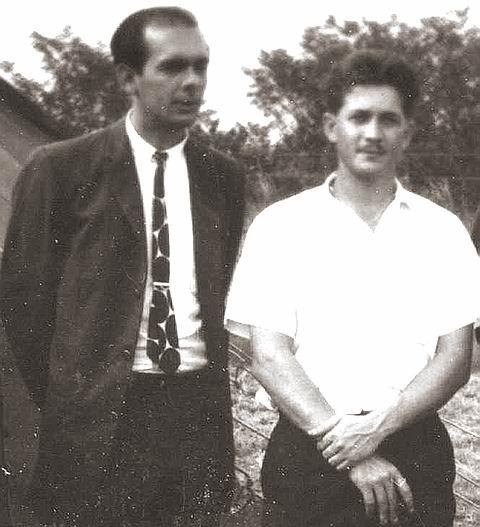 Bernardo de Torres and Ed Collins, 1963
