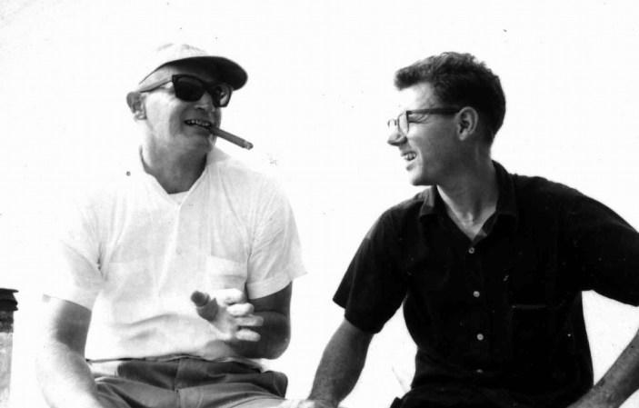 Dennis Harber and Isidro Borja
