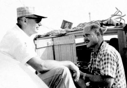 Dennis Harber and Tom Dunkin