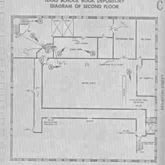 2nd Floor Diagram - TSBD