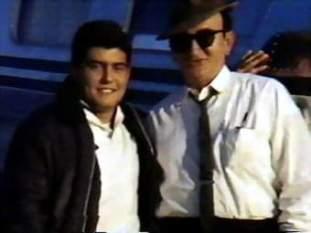 David Ferrie (right)