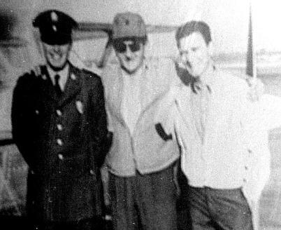 David Ferrie (center)