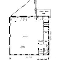 1st Floor Diagram - TSBD