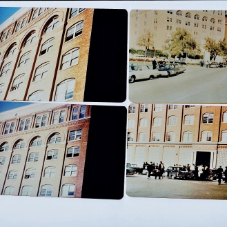 Four of several color photos purchased by researcher Art Kimbrough in the 1960's from the photographer who took them. Credit: Denis Morissette