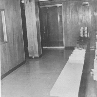 Second floor main entrance to office space