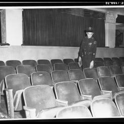 Texas Theatre Oswald Seat