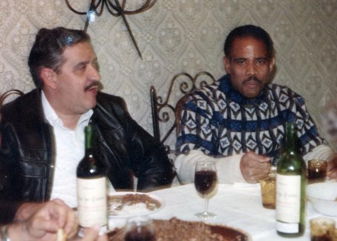 Tony Izquierdo (right)