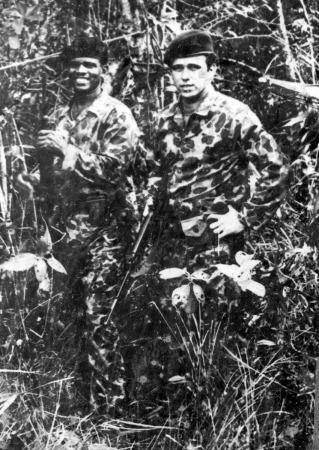 Tony Izquierdo (left)