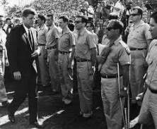 Bernardo de Torres (center, wearing sunglasses); photograph courtesy of Owen Band