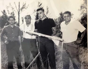 L-R: Armando Romero, Ramon Font, Tony Cuesta, Herminio Diaz Garcia
