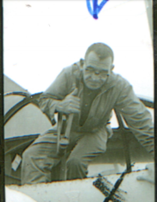 Rip Robertson in 1962, possibly during Operation Tilt.